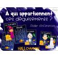 Atelier inférences - Halloween