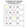 Activité sur les mélanges de couleurs