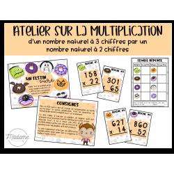 Un festin sucré – Atelier multiplication niveau 2