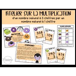 Un festin sucré – Atelier multiplication niveau 1