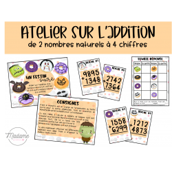 Un festin sucré – Atelier addition