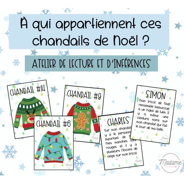 Atelier inférences - Noël