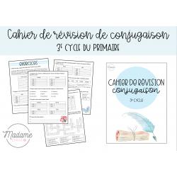 Cahier révision conjugaison - 3e cycle