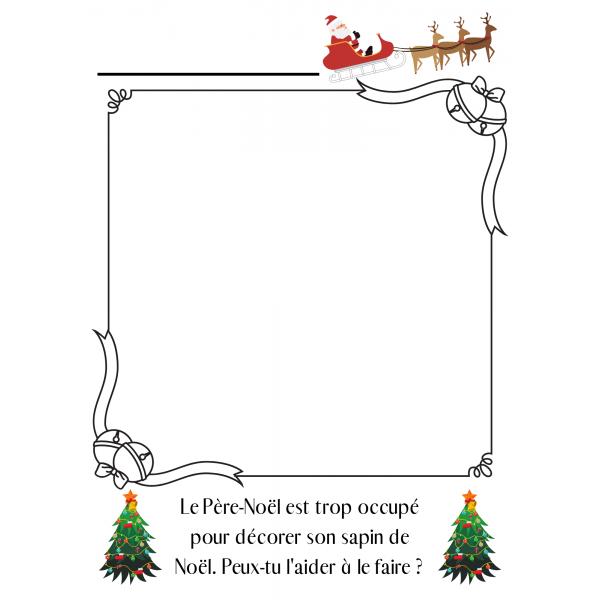 Dessin au Père-Noël