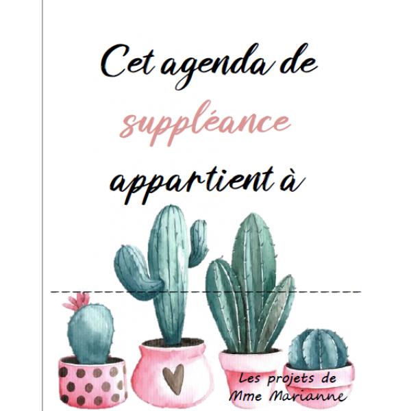 Agenda suppléance