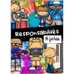 Responsabilités - 18 fiches illustrées