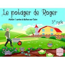 Le potager de Roger : Mesure de l'aire