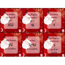 Le nombre secret du Père Noël