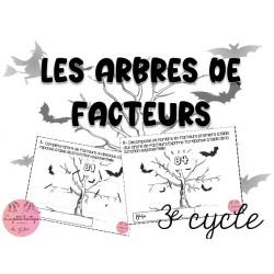 Arbres de facteurs 3e cycle