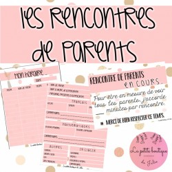 Document pour les rencontres de parents