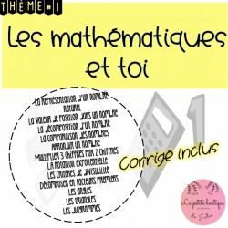 Les mathématiques et toi Thème 1