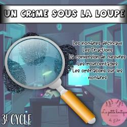 Un crime sous la loupe