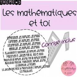 Les mathématiques et toi Thème 3