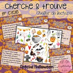 Cherche et trouve Halloween - 1ER CYCLE