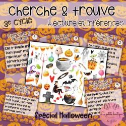 Cherche et trouve Halloween - 3E CYCLE