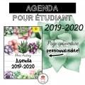 Agenda étudiant - 2019-2020 - Plantes succulentes