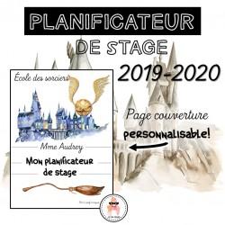 Planificateur de stage - L'école des sorciers