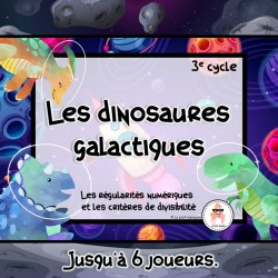 Les dinosaures galactiques - 3e cycle