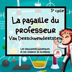 La pagaille du professeur - atelier - 3e cycle