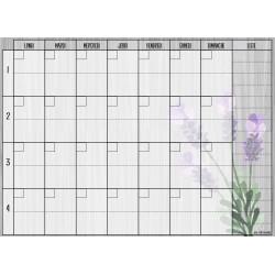 Menu/calendrier 4 semaines
