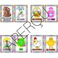 Pâques - étiquettes mots -  vocabulaire