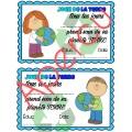 Jour de la terre - certificats