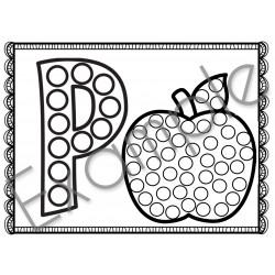 Pommes - fiche tampon BINGO