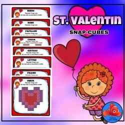 Saint Valentin - Snap-Cubes reproduction