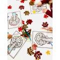 Coloriage  arbre d'automne (1pdf)