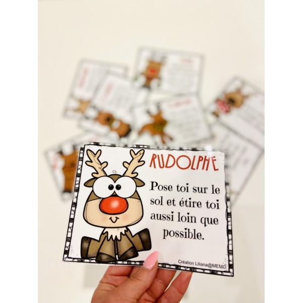 Noël ~ cartes de mouvement