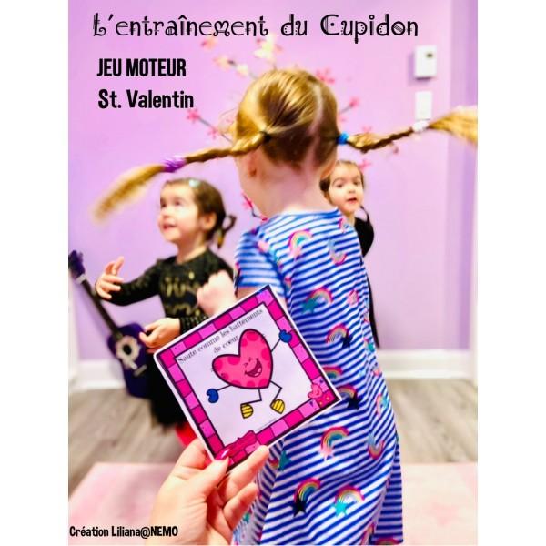 Jeu moteur Valentin ~  L'entraînement du Cupidon