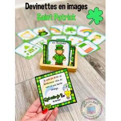Jeu devinettes Saint Patrick (en images)