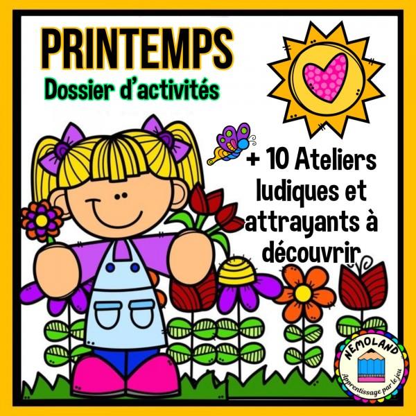 PRINTEMPS ~ Dossier d'activités