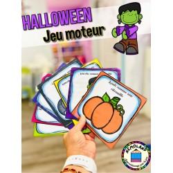 Halloween ~ jeu moteur