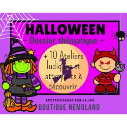Halloween ~ Dossier thématique
