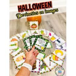 Halloween ~ Jeu de devinettes en images