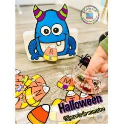 Halloween ~ Nourris le monstre