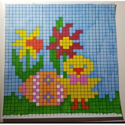 Pixel art Pâques