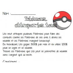 Pokémons, attrapez-les tous! C1 2e cycle