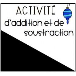 Activité d'additions et de soustractions