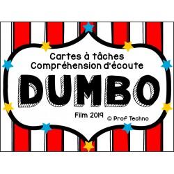 CÀT et questionnaire film Dumbo 2019