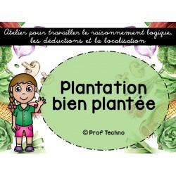 Plantation bien plantée - Déductions