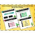 PowerPoint interactif  - Antonymes et synonymes