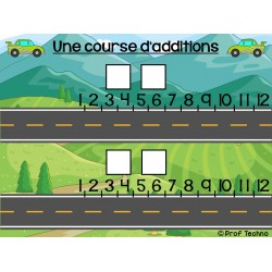 Courses d'additions et de multiplications