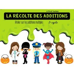 La récolte des additions