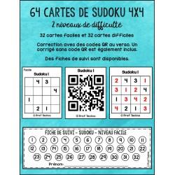 Sudoku BUNDLE 4x4 et 6x6