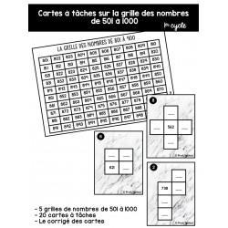 CàT - La grille des nombres de 500 à 10 000