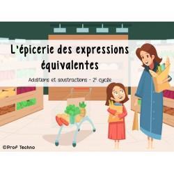 L'épicerie des expressions équivalentes