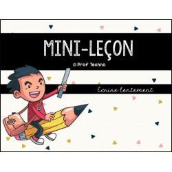 ENSEMBLE - Six mini-leçons en écriture + BONUS