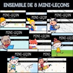 ENSEMBLE - 8 mini-leçons en écriture